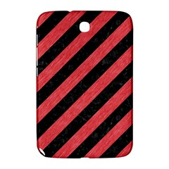 Stripes3 Black Marble & Red Colored Pencil (r) Samsung Galaxy Note 8 0 N5100 Hardshell Case  by trendistuff