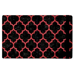 Tile1 Black Marble & Red Colored Pencil (r) Apple Ipad 2 Flip Case by trendistuff