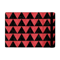 Triangle2 Black Marble & Red Colored Pencil Ipad Mini 2 Flip Cases by trendistuff