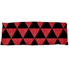 Triangle3 Black Marble & Red Colored Pencil Body Pillow Case Dakimakura (two Sides) by trendistuff