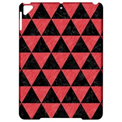 Triangle3 Black Marble & Red Colored Pencil Apple Ipad Pro 9 7   Hardshell Case by trendistuff