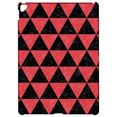 Triangle3 Black Marble & Red Colored Pencil Apple Ipad Pro 12 9   Hardshell Case