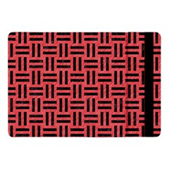 Woven1 Black Marble & Red Colored Pencil Apple Ipad Pro 10 5   Flip Case by trendistuff