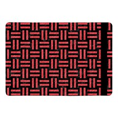 Woven1 Black Marble & Red Colored Pencil (r) Apple Ipad Pro 10 5   Flip Case by trendistuff