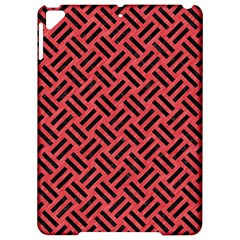 Woven2 Black Marble & Red Colored Pencil Apple Ipad Pro 9 7   Hardshell Case by trendistuff