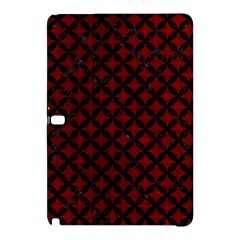 Circles3 Black Marble & Red Grunge Samsung Galaxy Tab Pro 12 2 Hardshell Case by trendistuff