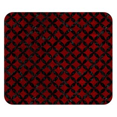 Circles3 Black Marble & Red Grunge Double Sided Flano Blanket (small)  by trendistuff