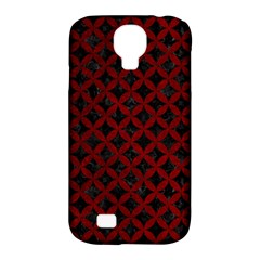 Circles3 Black Marble & Red Grunge (r) Samsung Galaxy S4 Classic Hardshell Case (pc+silicone) by trendistuff