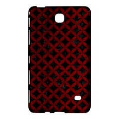 Circles3 Black Marble & Red Grunge (r) Samsung Galaxy Tab 4 (8 ) Hardshell Case  by trendistuff