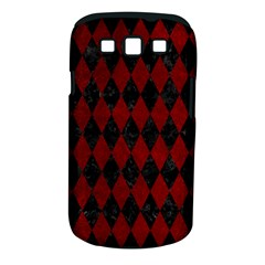 Diamond1 Black Marble & Red Grunge Samsung Galaxy S Iii Classic Hardshell Case (pc+silicone) by trendistuff
