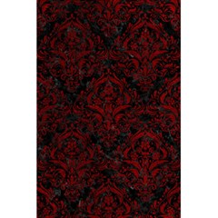 Damask1 Black Marble & Red Grunge (r) 5 5  X 8 5  Notebooks by trendistuff