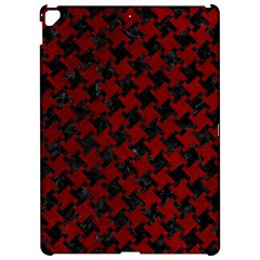 Houndstooth2 Black Marble & Red Grunge Apple Ipad Pro 12 9   Hardshell Case by trendistuff