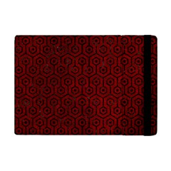 Hexagon1 Black Marble & Red Grunge Ipad Mini 2 Flip Cases by trendistuff