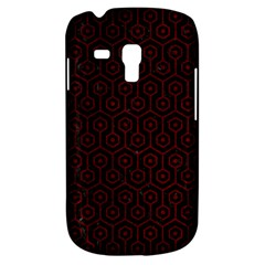 Hexagon1 Black Marble & Red Grunge (r) Galaxy S3 Mini by trendistuff