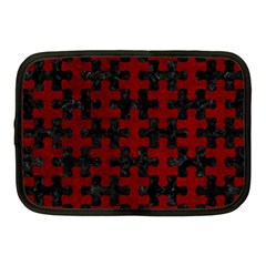 Puzzle1 Black Marble & Red Grunge Netbook Case (medium)  by trendistuff
