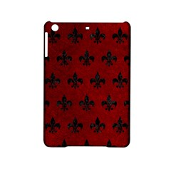 Royal1 Black Marble & Red Grunge (r) Ipad Mini 2 Hardshell Cases by trendistuff