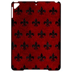 Royal1 Black Marble & Red Grunge (r) Apple Ipad Pro 9 7   Hardshell Case by trendistuff