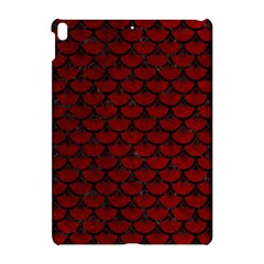 Scales3 Black Marble & Red Grunge Apple Ipad Pro 10 5   Hardshell Case by trendistuff