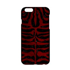 Skin2 Black Marble & Red Grunge (r) Apple Iphone 6/6s Hardshell Case by trendistuff
