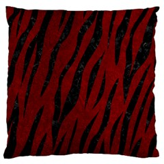 Skin3 Black Marble & Red Grunge Standard Flano Cushion Case (one Side) by trendistuff