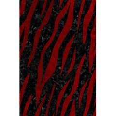 Skin3 Black Marble & Red Grunge (r) 5 5  X 8 5  Notebooks by trendistuff