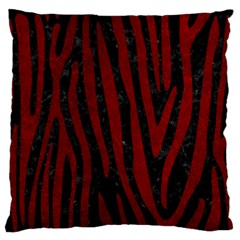 Skin4 Black Marble & Red Grunge Standard Flano Cushion Case (two Sides) by trendistuff