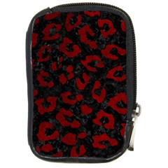 Skin5 Black Marble & Red Grunge Compact Camera Cases by trendistuff