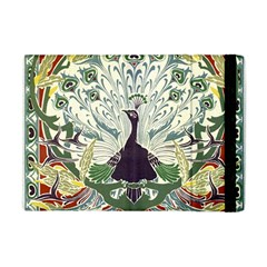 Art Nouveau Peacock Apple Ipad Mini Flip Case by 8fugoso