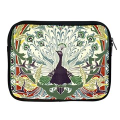 Art Nouveau Peacock Apple Ipad 2/3/4 Zipper Cases by 8fugoso