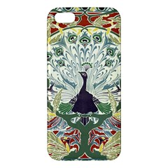 Art Nouveau Peacock Iphone 5s/ Se Premium Hardshell Case by 8fugoso