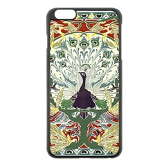Art Nouveau Peacock Apple Iphone 6 Plus/6s Plus Black Enamel Case by 8fugoso