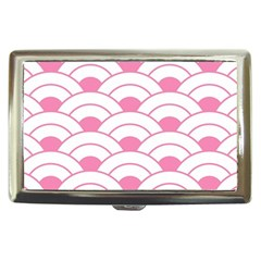 Art Deco Shell Pink White Cigarette Money Cases by 8fugoso