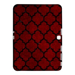 Tile1 Black Marble & Red Grunge Samsung Galaxy Tab 4 (10 1 ) Hardshell Case  by trendistuff