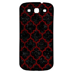 Tile1 Black Marble & Red Grunge (r) Samsung Galaxy S3 S Iii Classic Hardshell Back Case by trendistuff