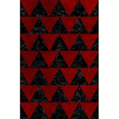 Triangle2 Black Marble & Red Grunge 5 5  X 8 5  Notebooks by trendistuff