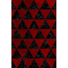 Triangle3 Black Marble & Red Grunge 5 5  X 8 5  Notebooks by trendistuff