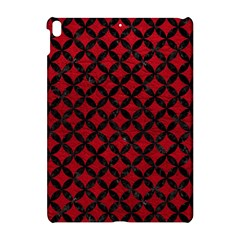 Circles3 Black Marble & Red Leather Apple Ipad Pro 10 5   Hardshell Case by trendistuff