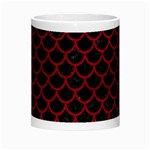 SCALES1 BLACK MARBLE & RED LEATHER (R) Morph Mugs Center