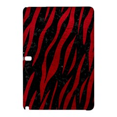 Skin3 Black Marble & Red Leather (r) Samsung Galaxy Tab Pro 10 1 Hardshell Case by trendistuff