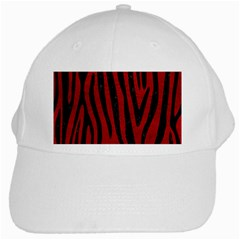 Skin4 Black Marble & Red Leather (r) White Cap