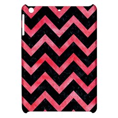 Chevron9 Black Marble & Red Watercolor (r) Apple Ipad Mini Hardshell Case by trendistuff