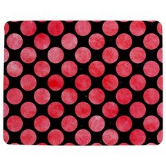 Circles2 Black Marble & Red Watercolor (r) Jigsaw Puzzle Photo Stand (rectangular) by trendistuff