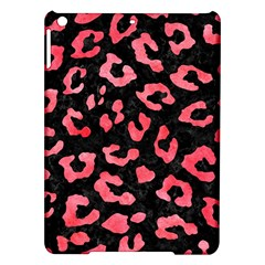 Skin5 Black Marble & Red Watercolor Ipad Air Hardshell Cases by trendistuff