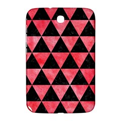 Triangle3 Black Marble & Red Watercolor Samsung Galaxy Note 8 0 N5100 Hardshell Case  by trendistuff