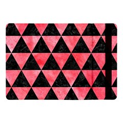 Triangle3 Black Marble & Red Watercolor Apple Ipad Pro 10 5   Flip Case by trendistuff