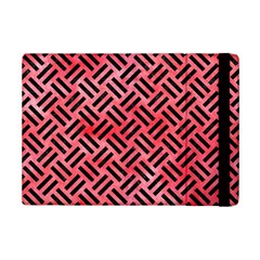 Woven2 Black Marble & Red Watercolor Ipad Mini 2 Flip Cases by trendistuff