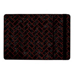 Brick2 Black Marble & Red Wood (r) Samsung Galaxy Tab Pro 10 1  Flip Case by trendistuff