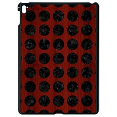 Circles1 Black Marble & Red Wood Apple Ipad Pro 9 7   Black Seamless Case by trendistuff