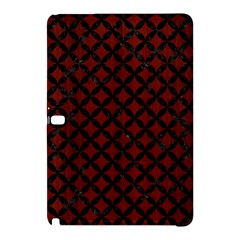 Circles3 Black Marble & Red Wood Samsung Galaxy Tab Pro 12 2 Hardshell Case by trendistuff