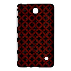 Circles3 Black Marble & Red Wood (r) Samsung Galaxy Tab 4 (7 ) Hardshell Case  by trendistuff